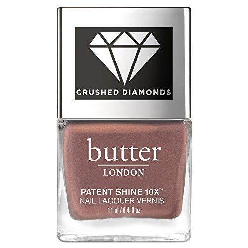 butter LONDON Patent Shine 10x Crushed Diamonds Nail Lacquer, Rock, 0.4 oz.
