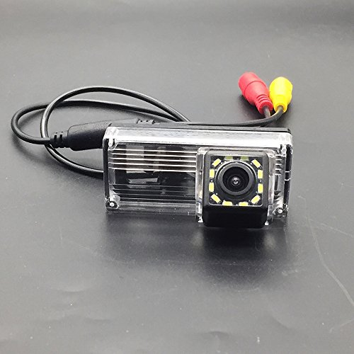 Toyota Prius Toyota Land Cruiser LC100 LC120 LC200 Prado /& HD CCD Night Vision Waterproof and Shockproof Reversing Backup Camera Mark X MarkX LEDs Car Rear View Camera for Toyota Reiz 12 LED aSATAH