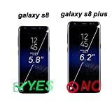Galaxy s8 Case, Arae [Wrist Strap] Flip Folio