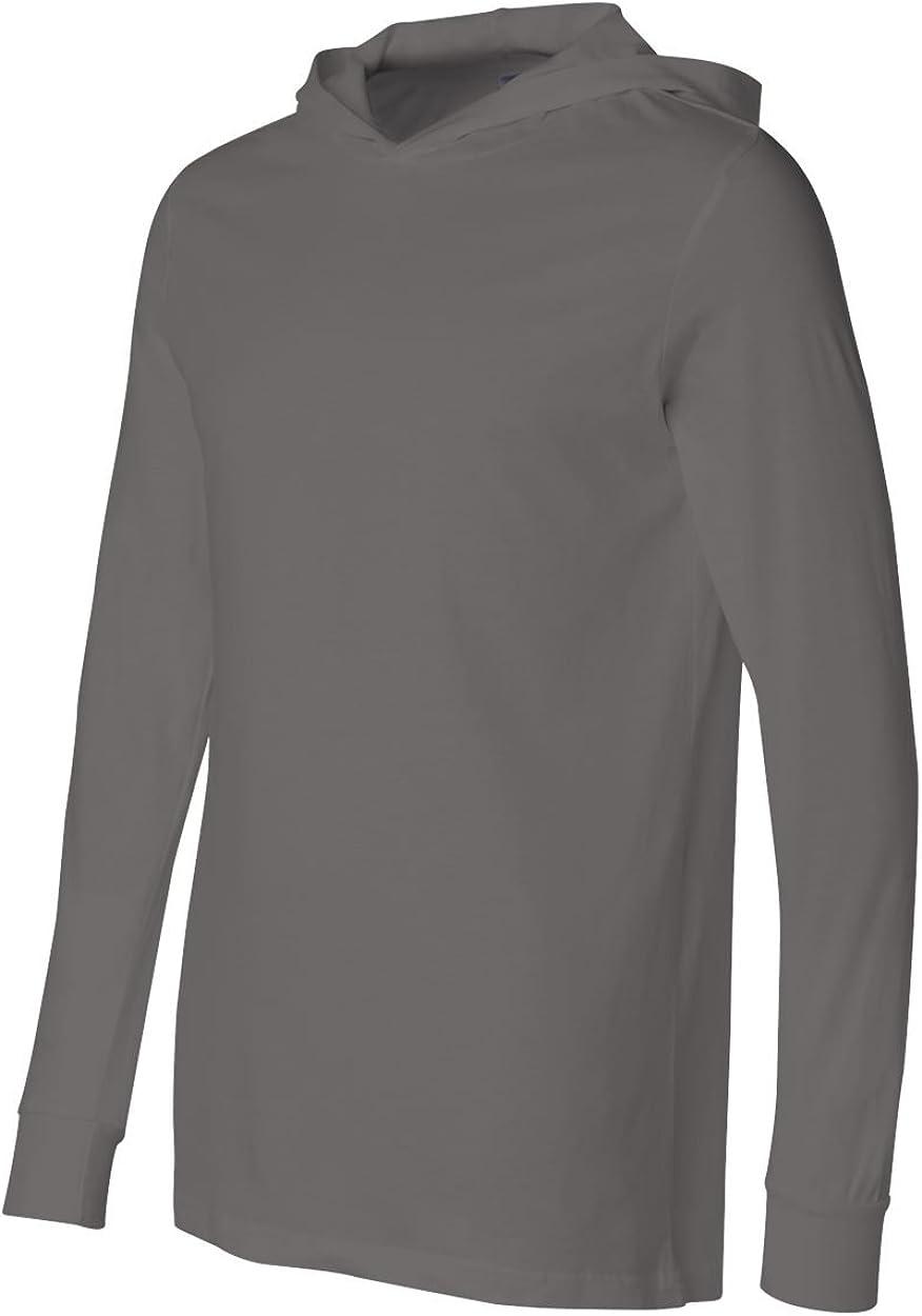 Canvas 3512 Bella Unisex Jersey Long-Sleeve Hoodie