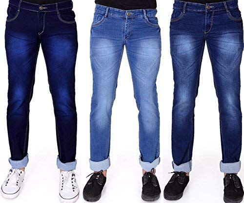 Buy RAGZO Men's Slim Fit Jeans (Pack of 3) at Amazon.in