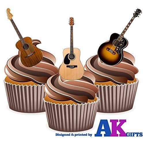 Guitar Cake Decorations: Amazon.co.uk
