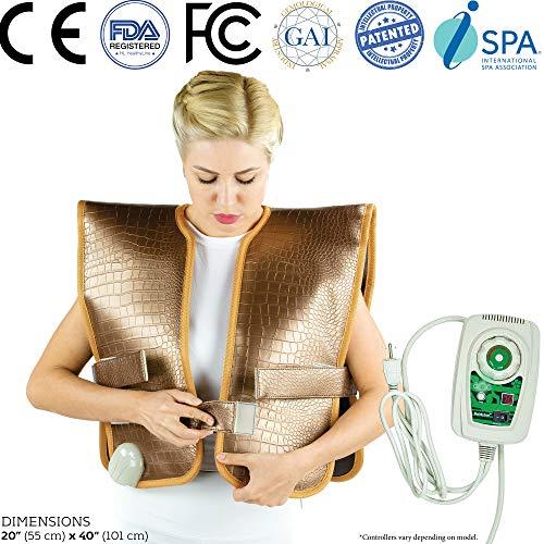 HL HEALTHYLINE Infrared Shoulders Vest 40in X 20in