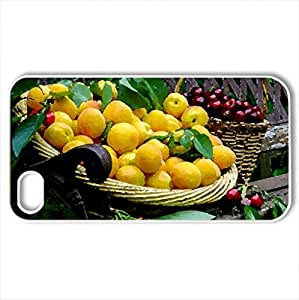 Still life - Case Cover for iPhone 4 and 4s (Watercolor style, White)