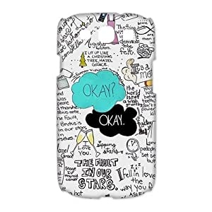 Custom Your Own Funny Okay The Fault in Our Stars- John Green 3D SamSung Galaxy S3 19300 Best Design Plastic Case Kimberly Kurzendoerfer