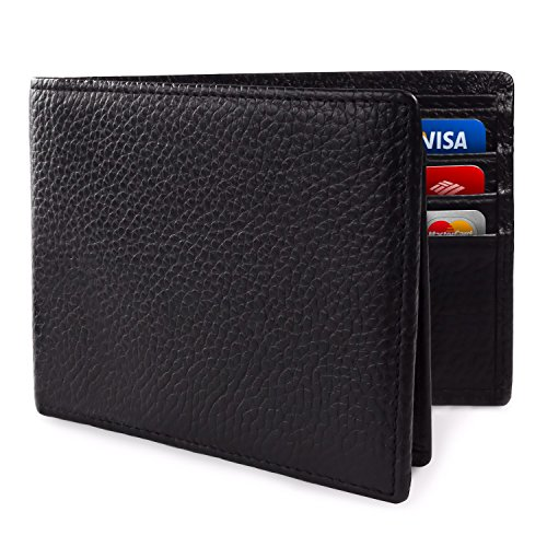 SafeCard Genuine Leather Blocking Wallet