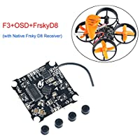 A06 F3 FC Flight Controller with Native Frsky D8 Receiver Betaflight OSD for Micro FPV Racing RC Drone Quadcopter