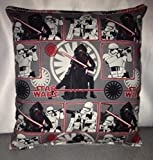 """Star Wars Pillow The Force Awakens Pillow HANDMADE in USA Toddler ,Travel New Pillow is approximately 10"""" X 11"""""""