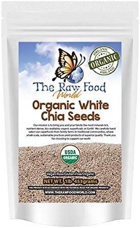 Son 2 packs!) 60 Semillas de Chia Blancas, 907 gramos: Amazon.es: Salud y cuidado personal