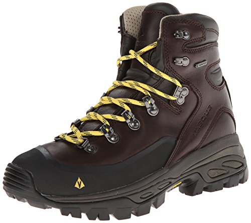 vasque women 39 s eriksson gore tex hiking boot coffee bean primrose yellow 10 5 m us. Black Bedroom Furniture Sets. Home Design Ideas