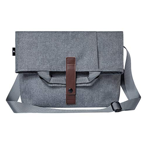 Classic Messenger Bag Unisex Canvas Laptop Shoulder Bags for School Traveling