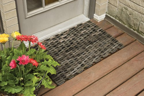 Doormats Durable Dura Rug Recycled Fabric Tire Link
