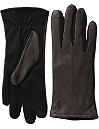 Women's Stretch Palm Leather Glove with Technology