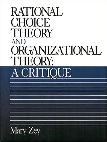rational organization theory