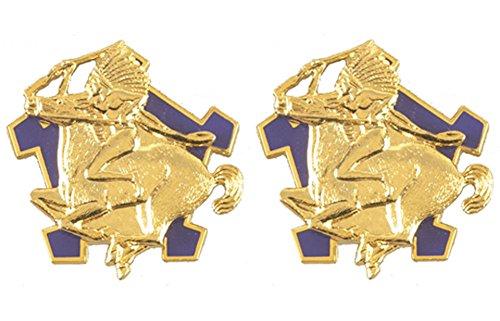 (9th Cavalry Distinctive Unit Insignia - Pair)