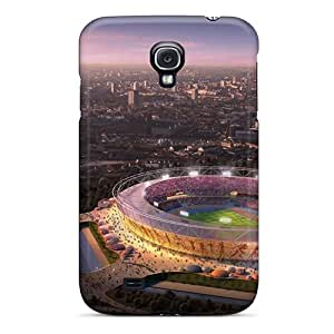 Awesome London Olympic Stadium Flip Case With Fashion Design For Galaxy S4