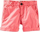 OshKosh B'gosh Woven Shorts (Toddler/Kid) - Coral-3T