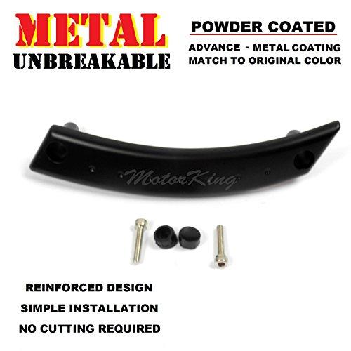 MotorKing UE1002-FR-PCB Metal Reinforced VW Beetle Front Right Door Panel Handle Repair Kit Satin Black