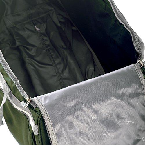 Olympia 29' 8 Pocket Rolling Duffel, Green, One Size