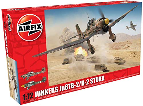 Airfix Junkers Ju87B-2/R-2 Stuka 1:72 for sale  Delivered anywhere in USA