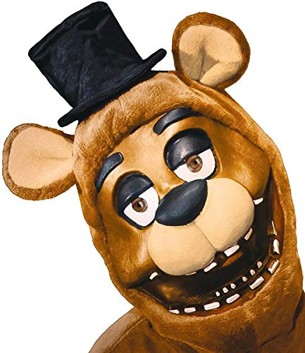 RUBIE'S COSTUME COMPANY Men's Five Nights Freddy 3/4 Mask  As Shown  One Size ()