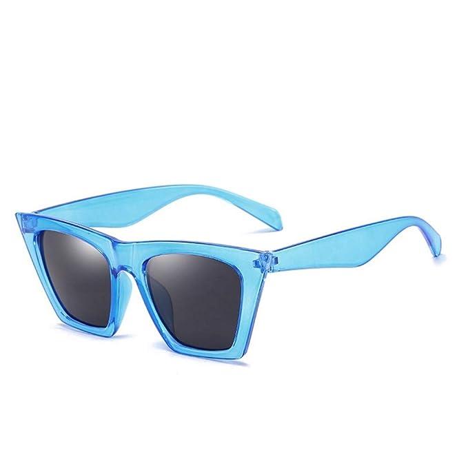 LLdy Gafas de sol cuadradas para damas con protección UV400 ...