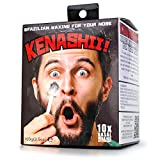 Kenashii, Nose Hair Removal for Men & Women by Gosso 3.5 oz. Fast and Effective. More Wax (100g), 20 Applicators, 10 Post Waxing Balm Wipes. Over 10 Month Supply of Brazilian Waxing for Your Nose!