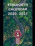 "Kenworth Calendar 2020-2021: Weekly Planner Calendar Logbook Diary Gift Todo Memory Book Budget Planner | Cars, Men, Woman, Girls & Boys, Autos | 8.5"" x (Cars calendar 2020-2021)"