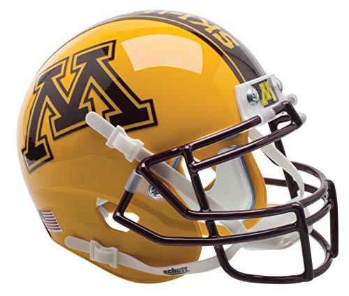 Schutt NCAA Minnesota Golden Gophers Mini Authentic XP Football Helmet, ALT 2 ()