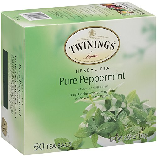 Twinings Pure Peppermint Tea 50 count Tea Bags by Twinings (Image #4)