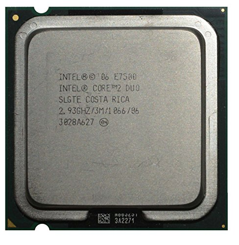 Intel Core Duo E7500 Processor