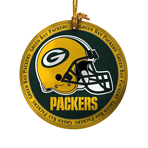 NFL Green Bay Packers Ceramic Plate Ornament
