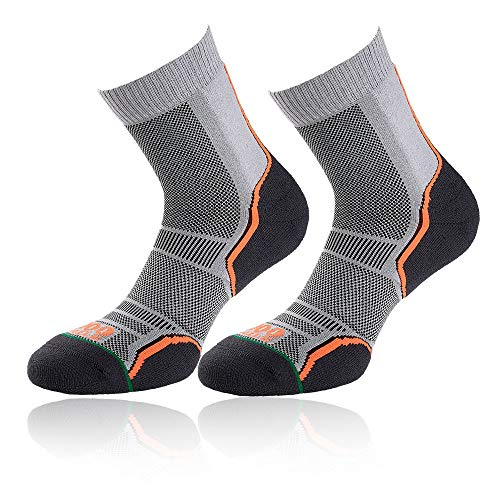 Pied Mile 1000 Aw18 twin Chaussettes À Grey Trail Pack Course RI4rdx4