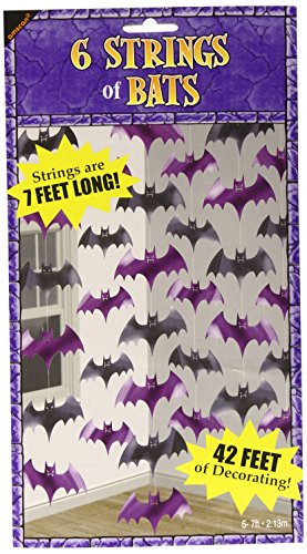 Bat String Decorations 2.1m 12 -/6 ()