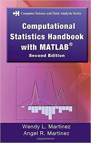 Computational Statistics Hndbk with MATLAB