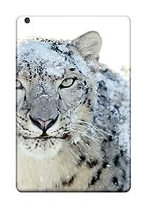 Hot New Fashion Premium Tpu Case Cover For Ipad Mini - Snow Leopard Pictures