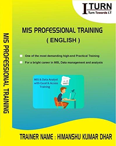 MIS Professional - Data Science (Excel VBA + Advance Excel + Access + SQL +  Macro)