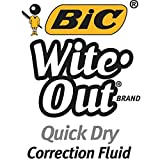 Bic Wite-Out Quick Dry Correction Fluid - 2 pack