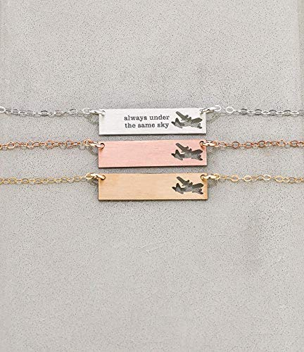 Air Force Necklace - Deployment Gift Ideas for Family