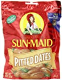 Sun Maid Pitted Dates, 8-Ounce Pouches (Pack of 5)
