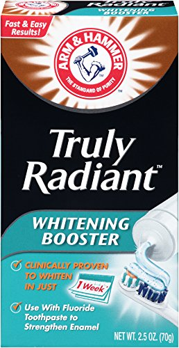 - Arm & Hammer Whitening Booster, 2.5 oz (Packaging May Vary)