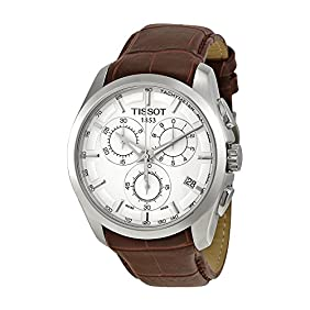 Couturier Silver Chronograph Mens Watch