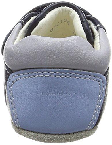 Geox B New Ian Boy C, Zapatos de Bebé para Bebés Azul (Navy/whitec4211)