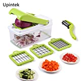 Vegetable Chopper,Mandoline Vegetable Fruit Dicer,Effortless...