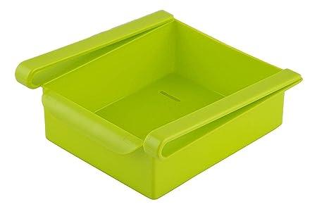Ganesh Shop Plastic Refrigerator Storage Rack, Table Stationary Organizer, Storage Sliding Drawer, Fridge Tray Set of 1, Color May Vary Storage Drawer Units at amazon