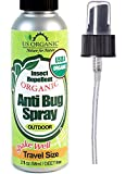 Best Organic Bug Sprays - US Organic Mosquito Repellent Anti Bug Outdoor Pump Review