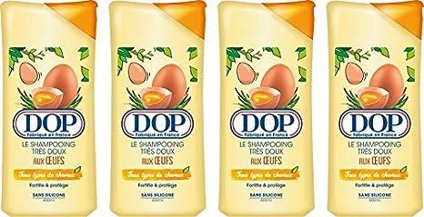 DOP Champú Muy Suave en los huevos todos tipos de cabello 400 ml - juego de 4: Amazon.es: Belleza