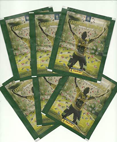 figurinhas Campeonato Brasileiro 2018 - lote com 10 envelopes