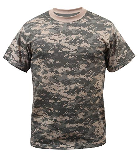 - Rothco Camo T-Shirts, ACU Digital Camo, X-Large