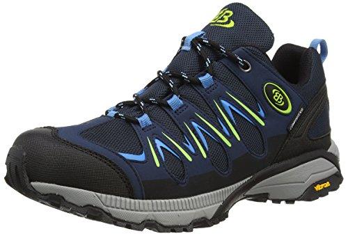 Bruetting Expedition, Zapatos de High Rise Senderismo Unisex Adulto Azul (Marine/blau/lemon)